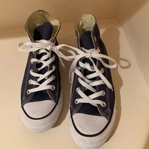 Converse Shoes - Navy Chuck Taylor All Star Converse